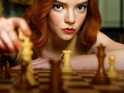 O Gambito da Rainha: Uma mulher no comando do xadrez