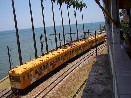 TREM DO SUBÚRBIO FERROVIÁRIO DE SALVADOR