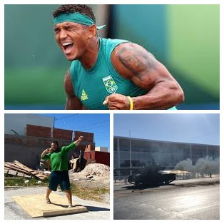 As duas faces do brasileiro: o atleta e o pateta