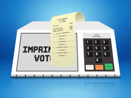 Imprimindo impressões sobre o voto impresso