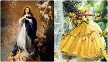 Oxum Mãe Imaculada: diálogo entre arquétipos da Mãe Divina