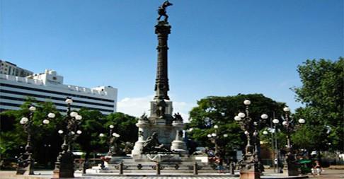 Praça 2 de Julho, Largo do Campo Grande, Salvador.