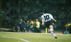 Maradona,política e arte:Donde estás el fútbol,Dieguito?