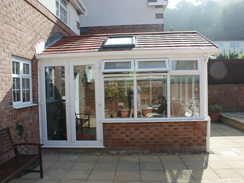 Solid roof replacement on 15 year old conservatory!