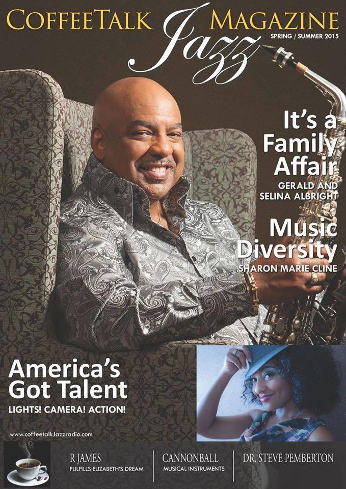 CTJM Summer Gerald Albright Magazine Cov