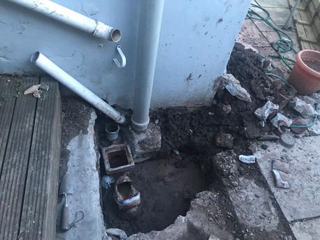 Burst water main