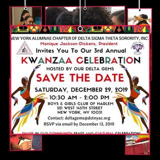 DSTNYAC Kwanzaa Celebration