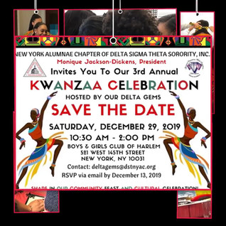 DSTNYAC Kwanzaa Celebration