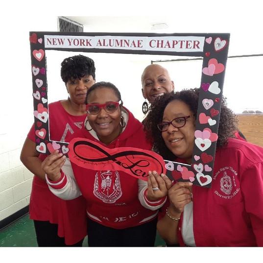 NYAC Sisterhood Retreat, March 2019