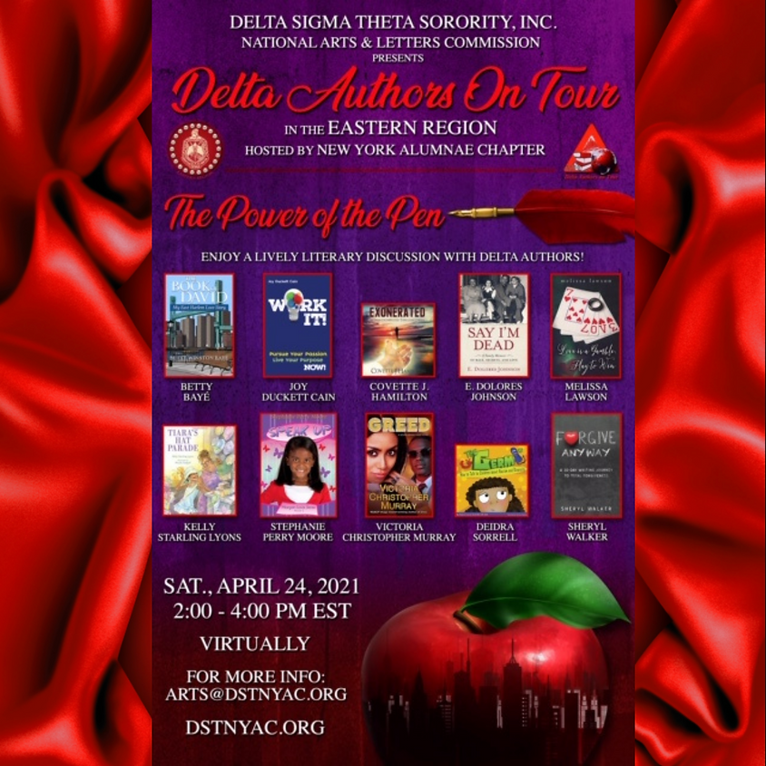 2021 Delta Authors on Tour in the Eastern Region Hosted by New York Alumnae Chapter