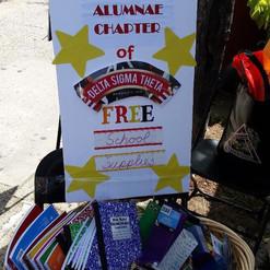 Harlem Week Free School Supplies