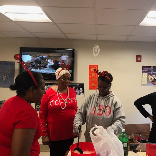 Nursing Home Committee Annual Christmas Goody Bag distribution