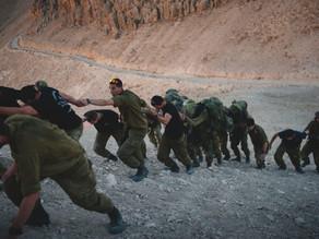 IDF의 문제 신병과 리바이브이스라엘의 제자훈련생들 훈련하기