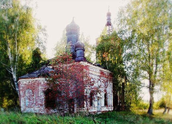 Троицкая церковь села Русино2005