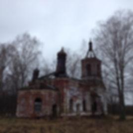 Церковь Троицы Живоначальной села Русино 2014
