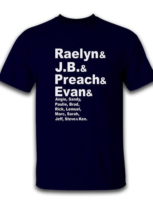 Raelyn, JB, Preach, etc.
