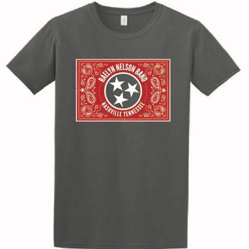 Charcoal Raelyn Nelson Band(ana) logo tshirt