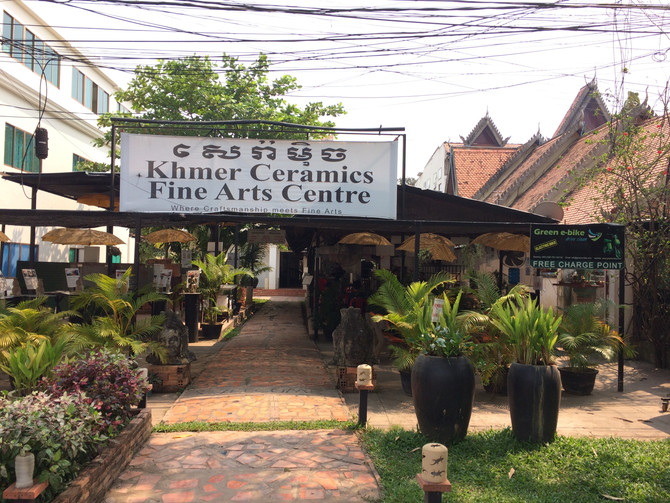 Khmer Ceramics Fine Art Studio