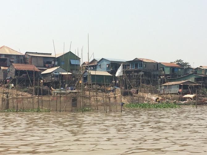 Floating villages.....