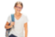 Young-Teen-girl-with-glasses-and-braces-