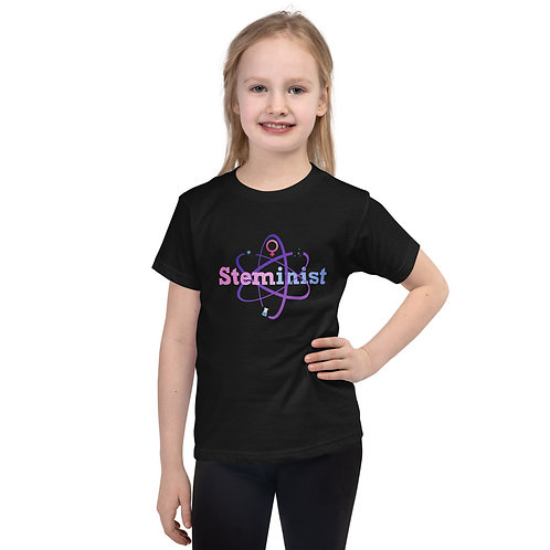 STEMINIST Short sleeve kids t-shirt