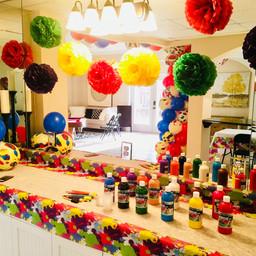 Paint Party!!