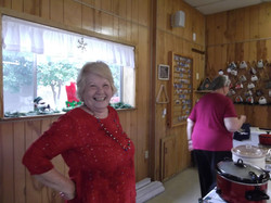 Golden Grove_Bernice serving Christmas l