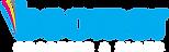 boomer logo white text
