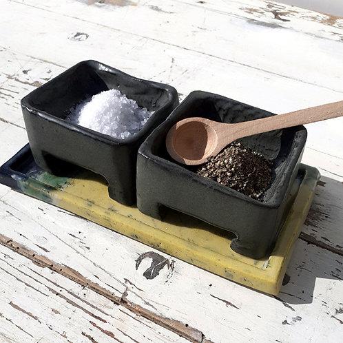 Landlines Salt and Pepper Set