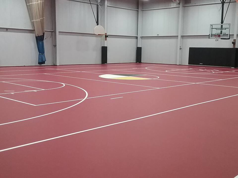 New Gym Floor Installation