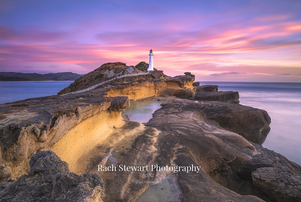 Castle Point Lighthouse sunrise