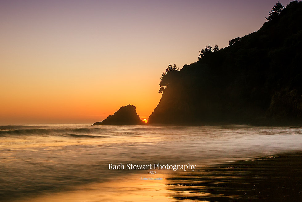 Orokawa Bay sunrise