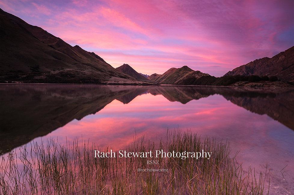 Moke Lake sunrise Queenstown