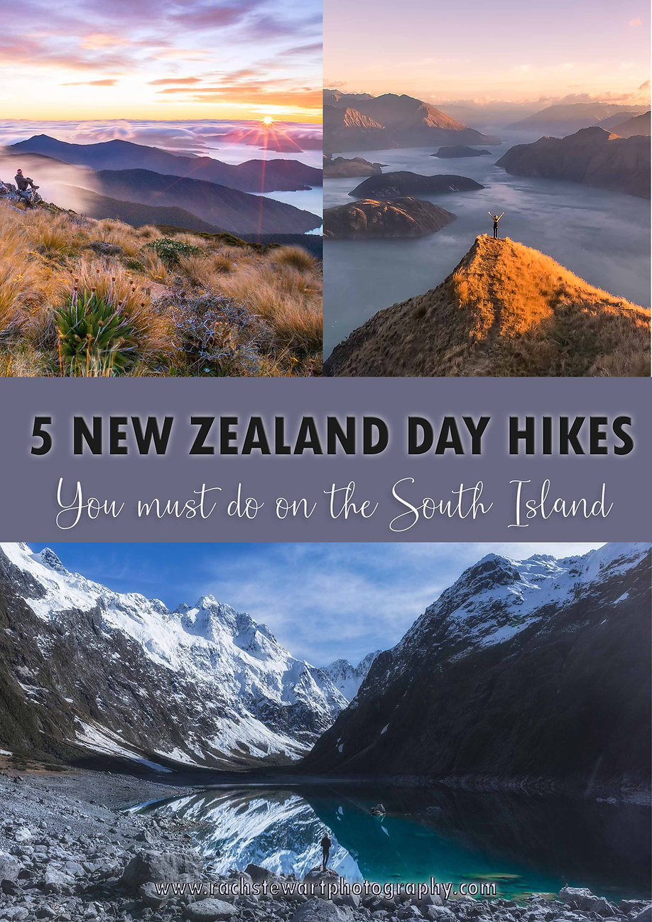 South Island New Zealand Day Hikes