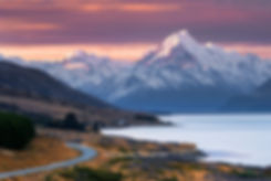 Mount Cook Sunset