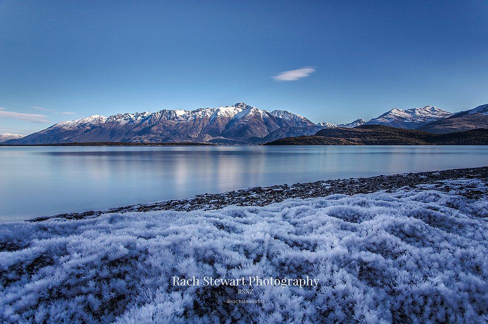 Lake Wakatipu Queenstown winter
