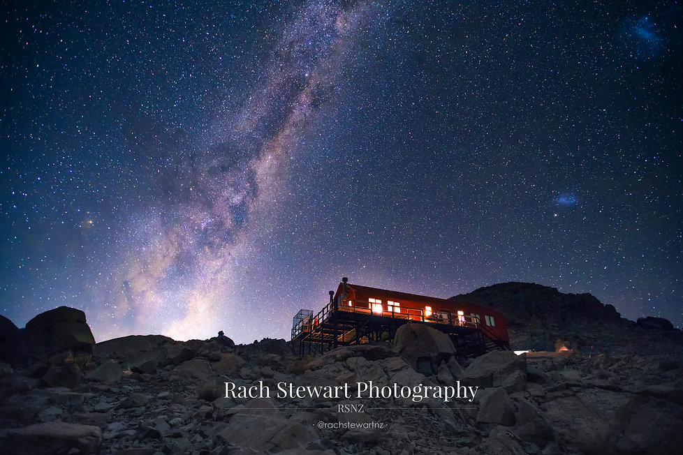 Mueller Hut Mount Cook astro