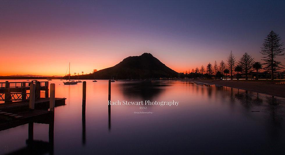 Mount Maunganui sunset