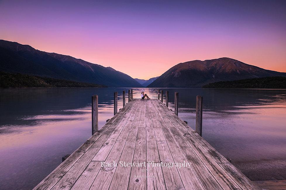 Lake Rotoiti St Arnaud sunrise