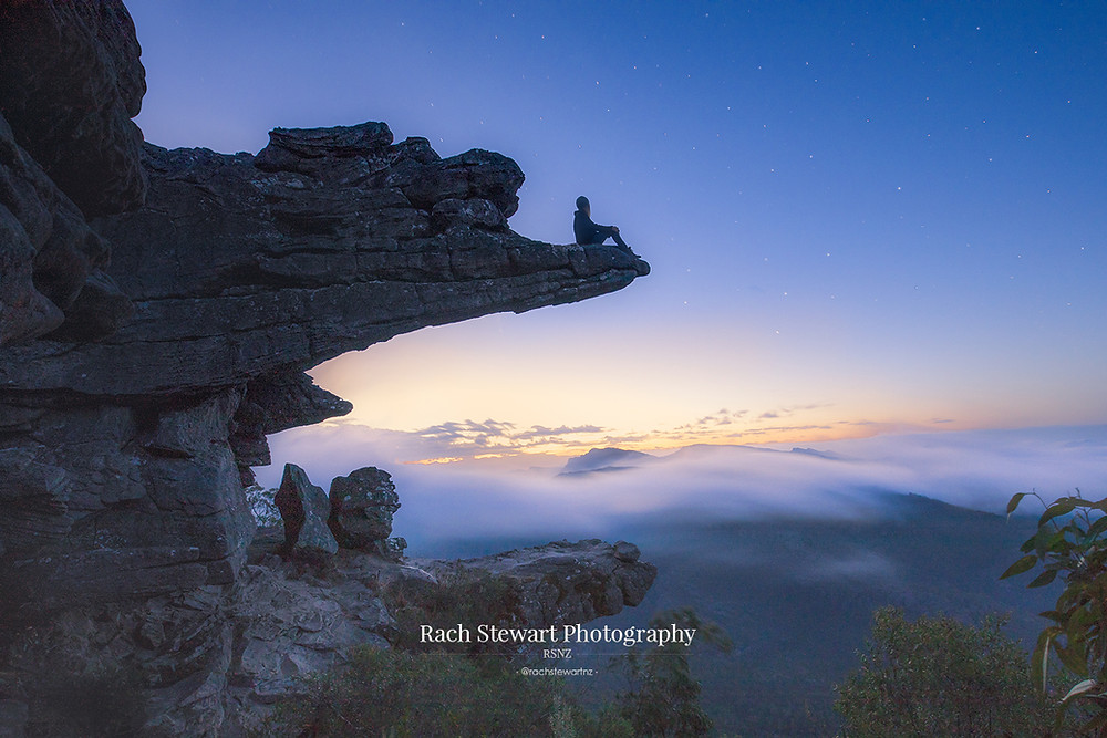 The Balconies lookout in the Grampians National Park