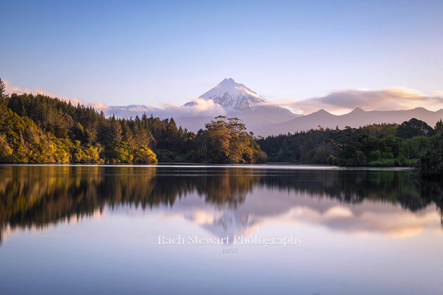Mount Taranaki reflection