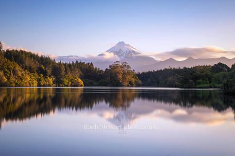 Mount Taranaki reflection