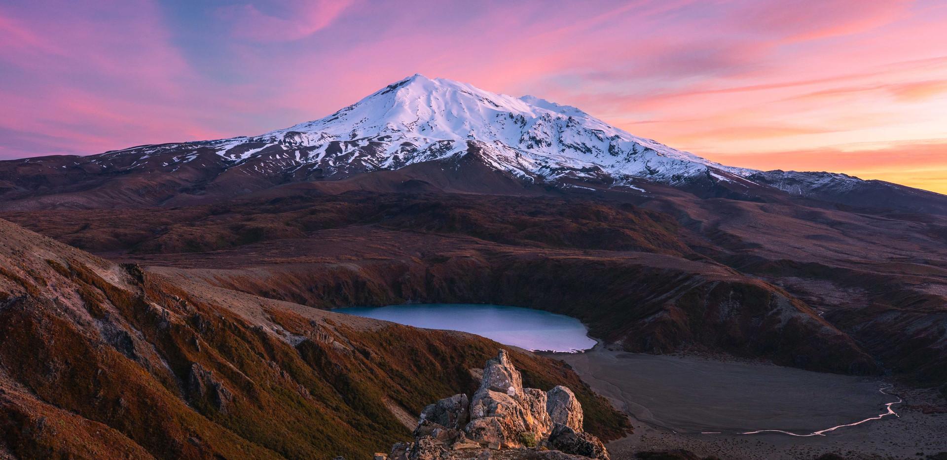 Tama Lakes, Mount Ruapehu