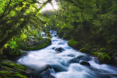 Marian Falls New Zealand