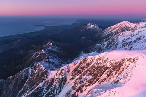 Kaikoura Range sunrise 4