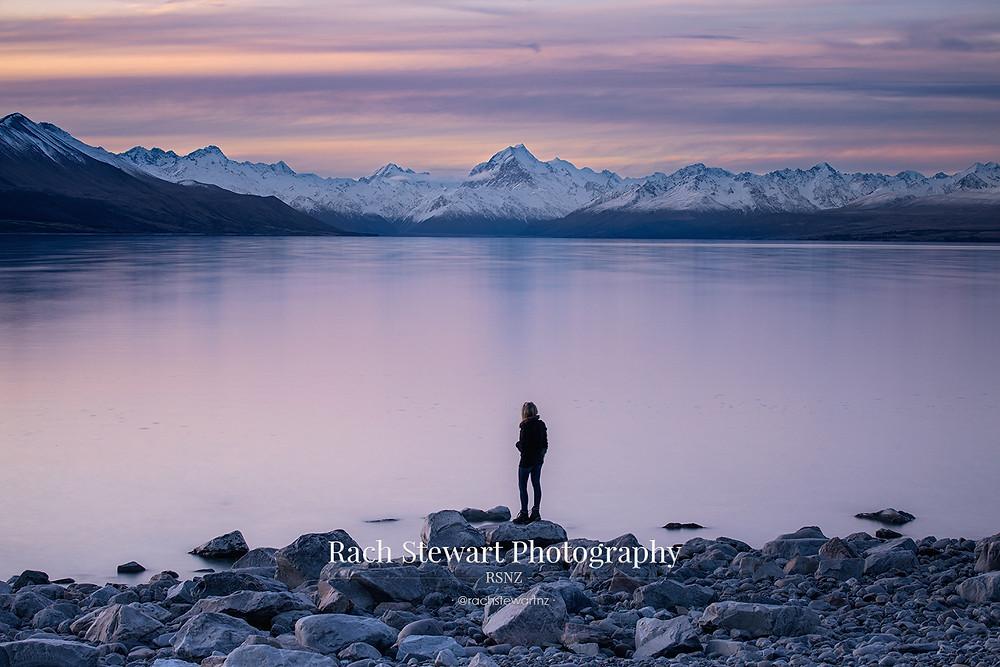 Lake Pukaki Twilight Mount Cook