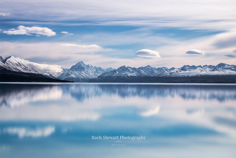 Lake Pukaki reflections Mount Cook
