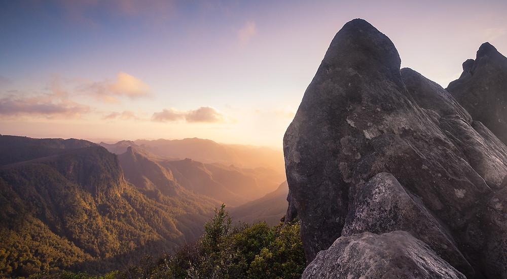 The Pinnacles Walk Coromandel sunrise