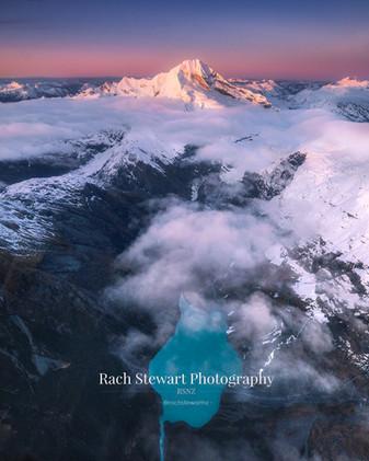 Mount Aspiring Glacial Lake