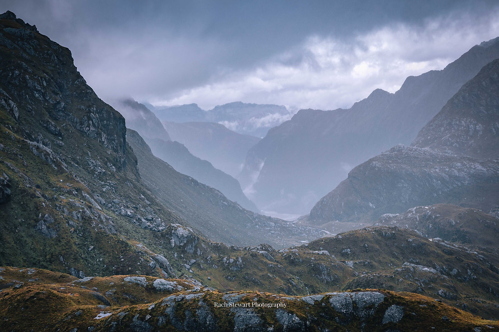 View of the Routeburn Valley